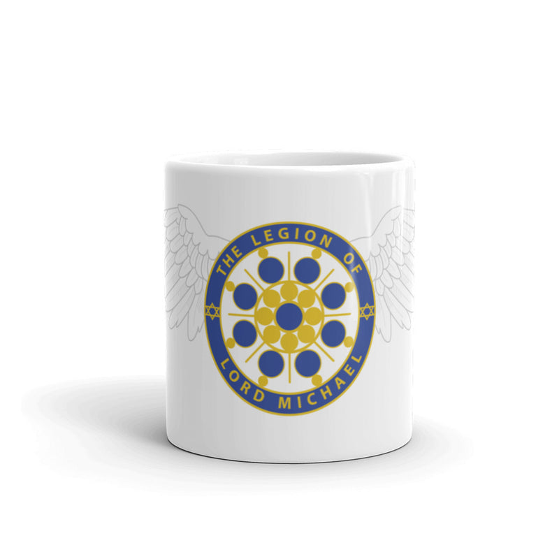 Archangel Michael Seal With Wings - Mug - StarSeed Gear