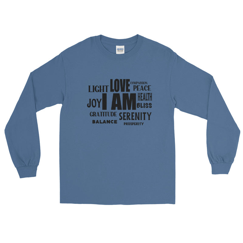 I AM- Men's Classic Long Sleeve Tee - StarSeed Gear