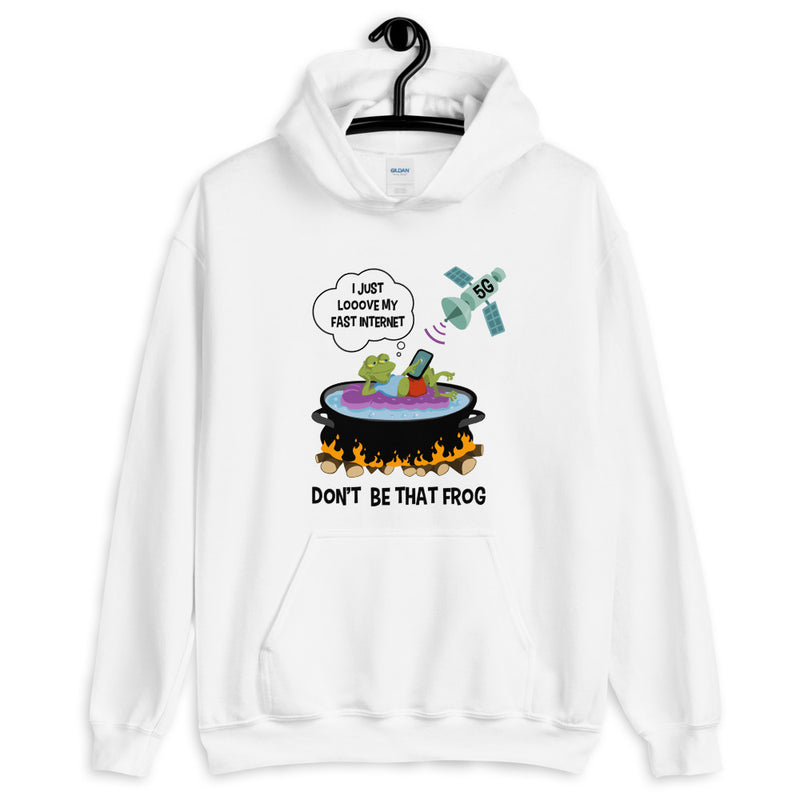 Don't Be That Frog - Men's Hoodie - StarSeed Gear