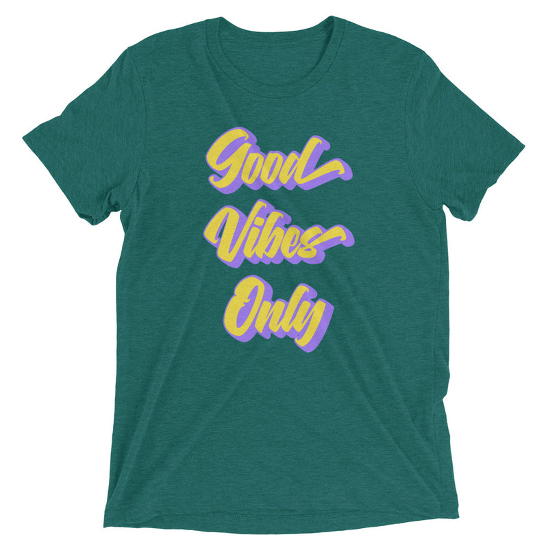 Good Vibes Only - Men's Super Soft Tee - StarSeed Gear