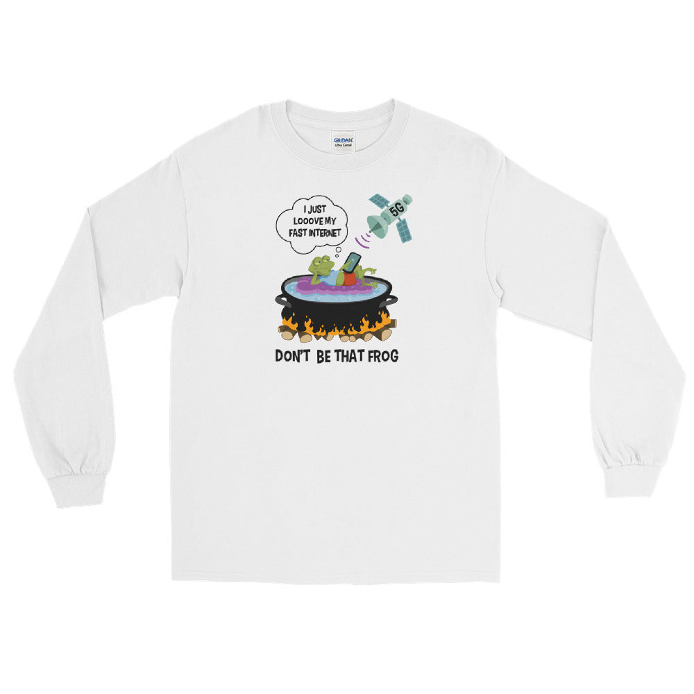 Don't Be That Frog - Men's Classic Long Sleeve Tee - StarSeed Gear