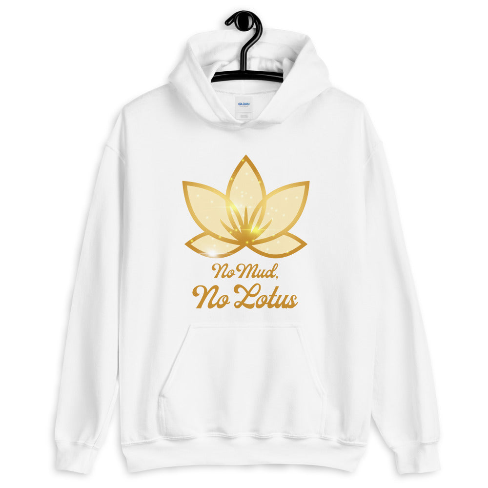 No Mud No Lotus - Men's Hoodie - StarSeed Gear