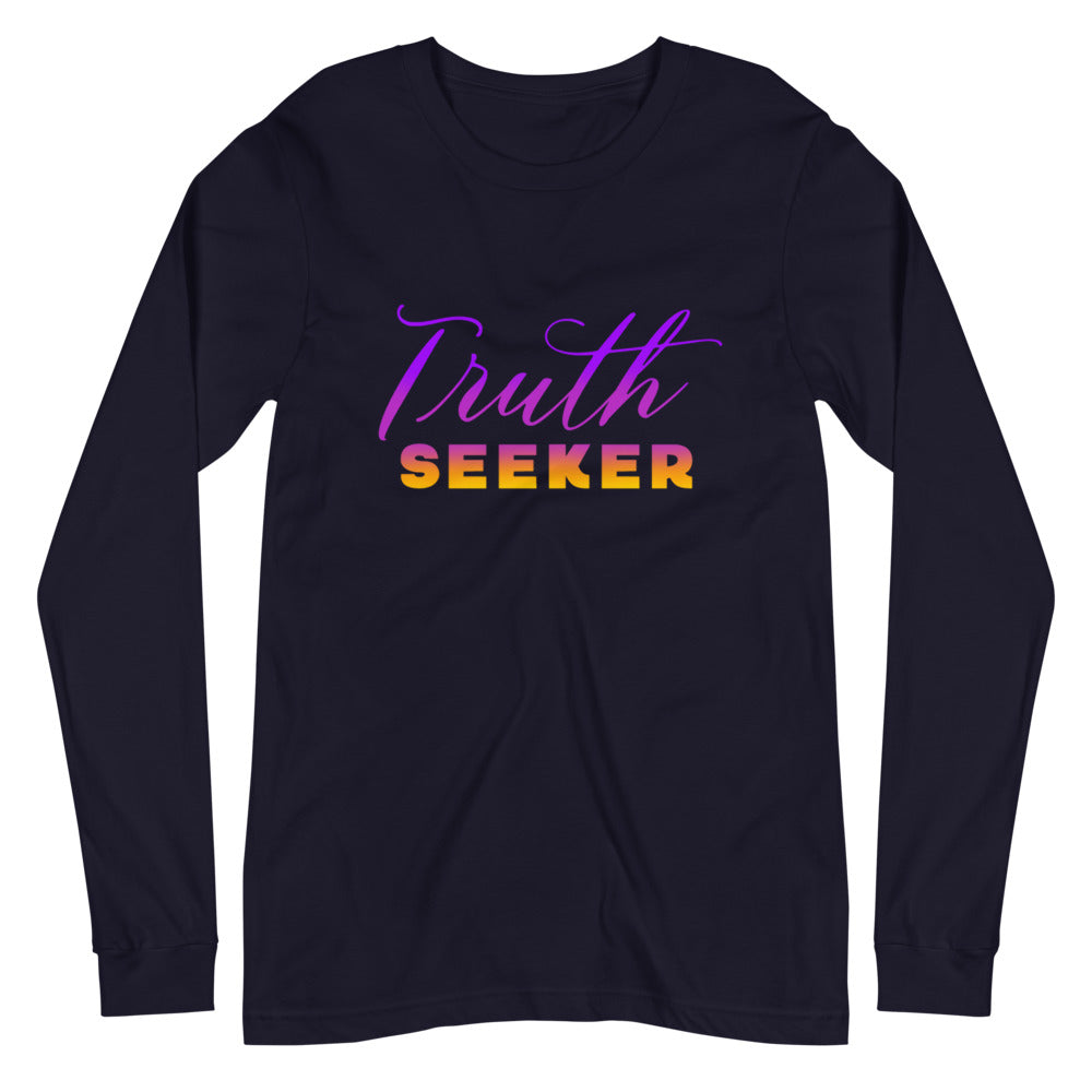 Truth Seeker - Women's Soft Long Sleeve Tee - StarSeed Gear