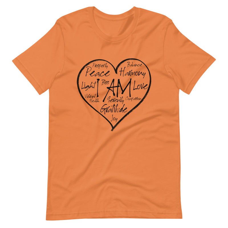 I AM Heart - Women's Soft Tee - StarSeed Gear