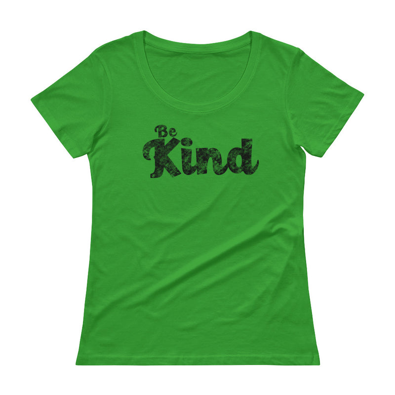 Be Kind - Women's Scoop Neck Tee - StarSeed Gear