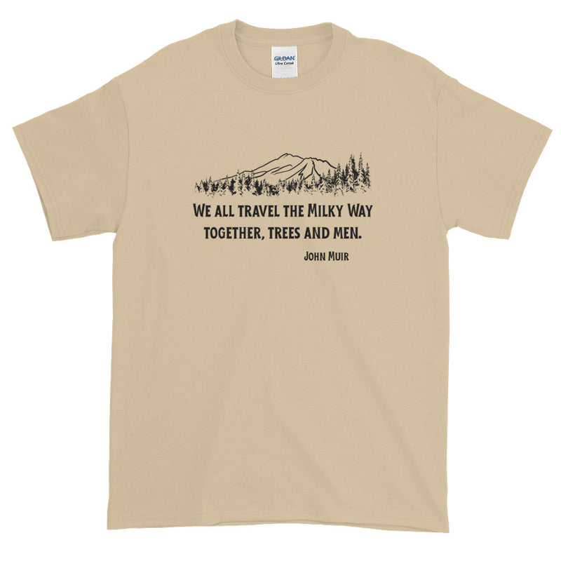 Traveling The Milky Way Together John Muir - Men's Classic Tee - StarSeed Gear