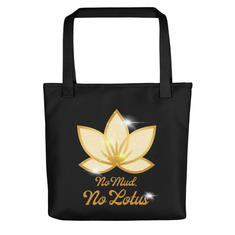 No Mud No Lotus - Tote Bag - StarSeed Gear