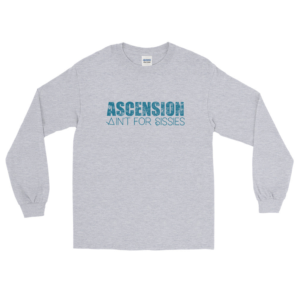Ascension Ain't For Sissies - Men's Classic Long Sleeve Tee - StarSeed Gear