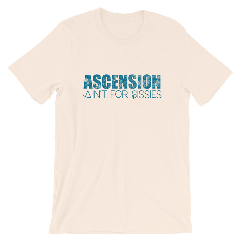 Ascension Ain't For Sissies - Women's Soft Tees - StarSeed Gear