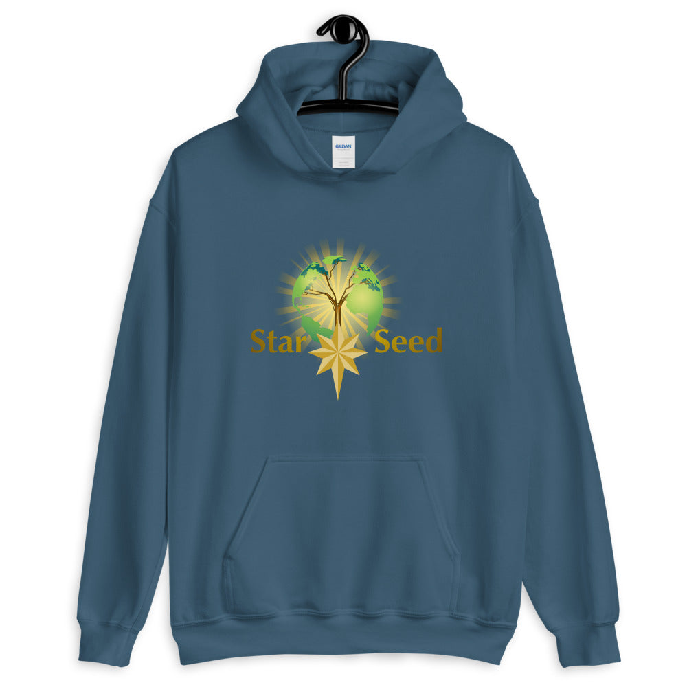 StarSeed Logo - Men's Hoodie - StarSeed Gear