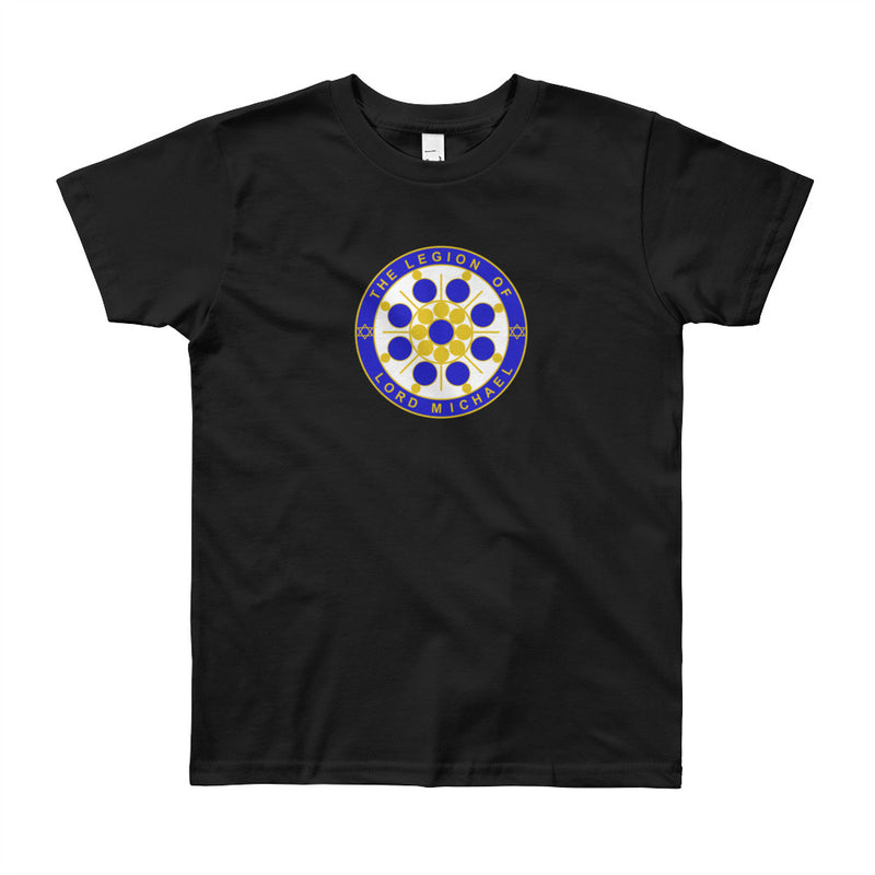 Archangel Michael Seal - Youth Tee - StarSeed Gear