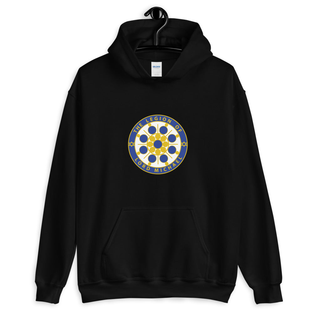 Archangel Michael Seal - Men's Hoodie - StarSeed Gear