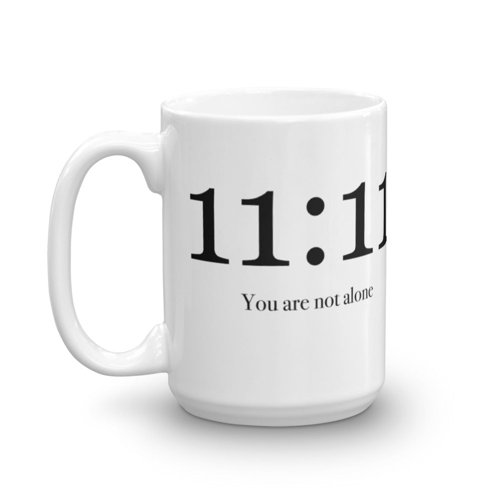 11:11 You Are Not Alone - Mug - StarSeed Gear