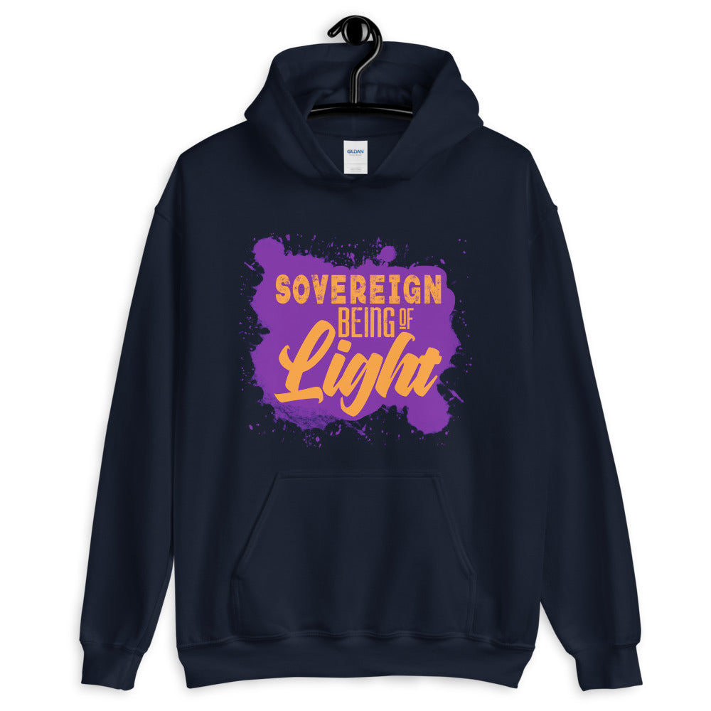 Sovereign Being of Light - Women's Hoodie - StarSeed Gear