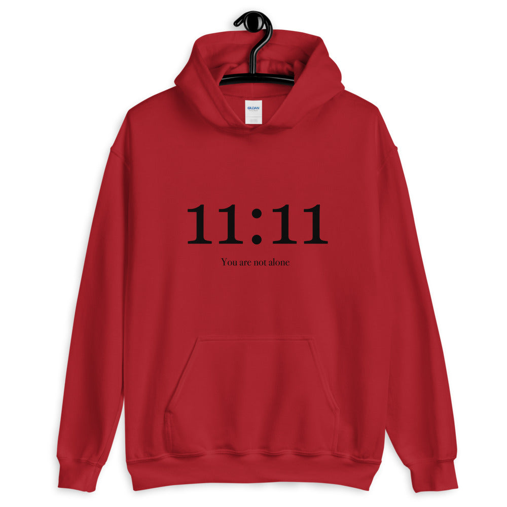 11:11 You Are Not Alone - Men's Hoodie - StarSeed Gear