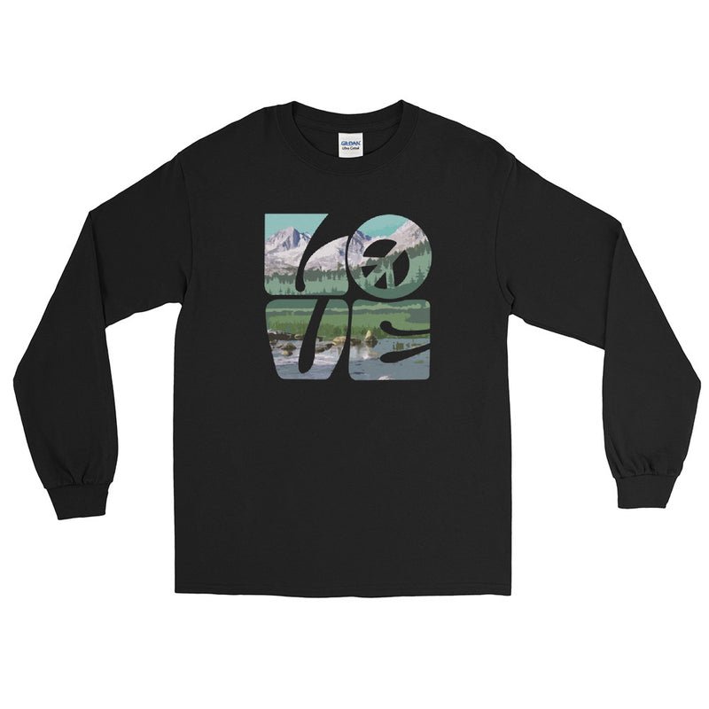 Love Gaia - Men's Classic Long Sleeve Tee - StarSeed Gear