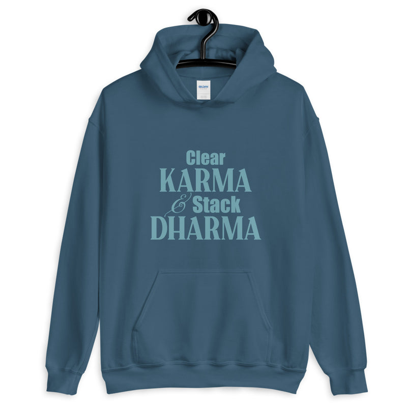 Clear Karma Stack Dharma - Women's Hoodie - StarSeed Gear