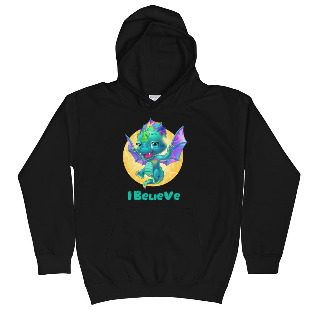 Dragons I Believe - Kids Hoodie - StarSeed Gear