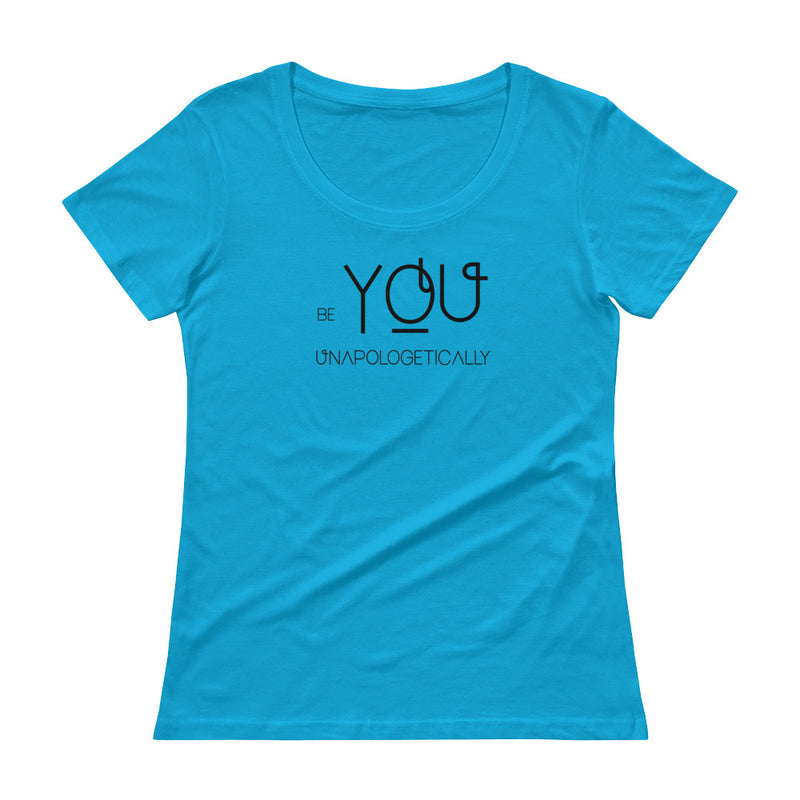Be You - Women's Scoop Neck Tee - StarSeed Gear