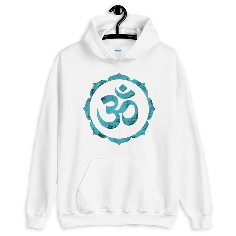 OM In Lotus - Men's Hoodie - StarSeed Gear