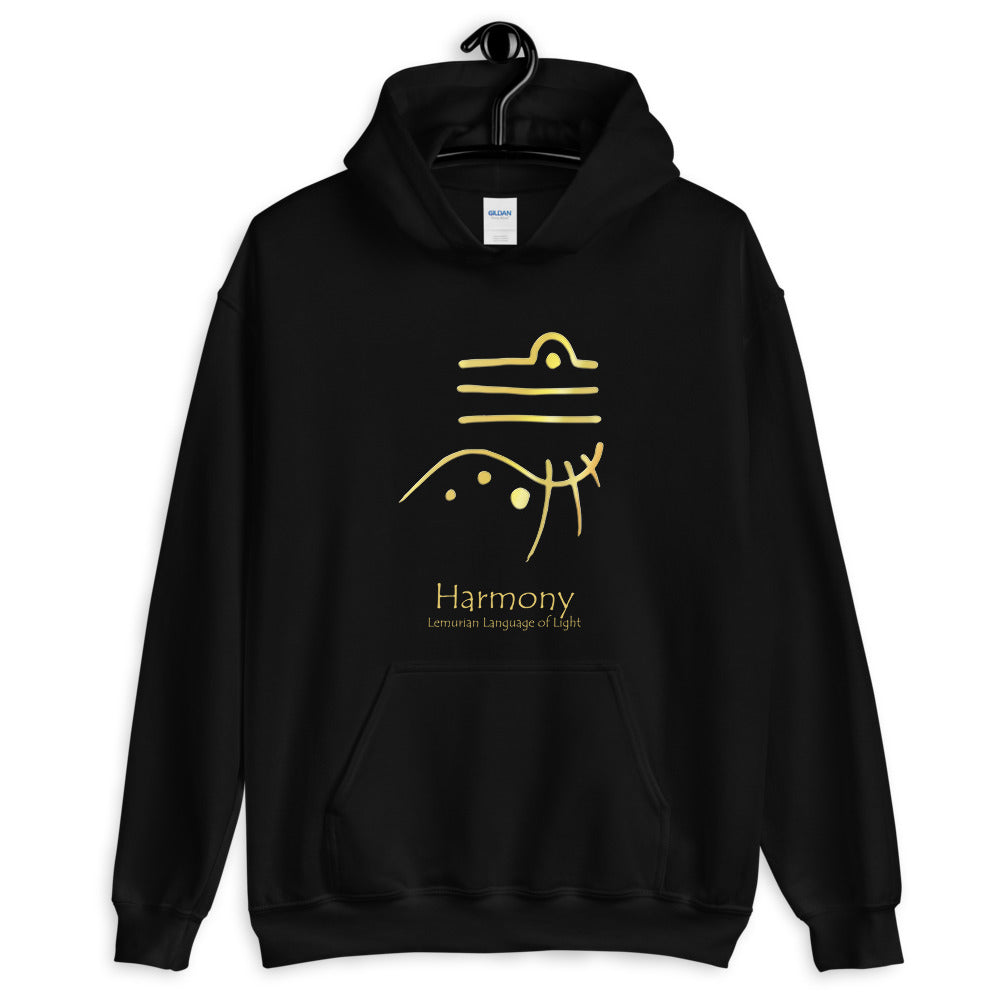 Lemurian Light Language Harmony - Men's Hoodie - StarSeed Gear