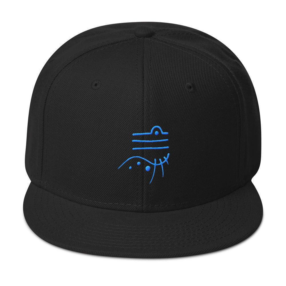 Lemurian Light Language Harmony Aqua - Snapback Hat - StarSeed Gear