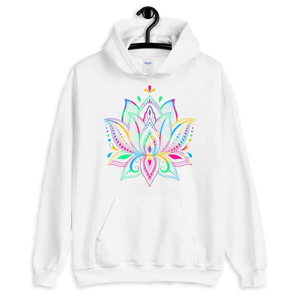 Colorful Lotus - Men's Hoodie - StarSeed Gear
