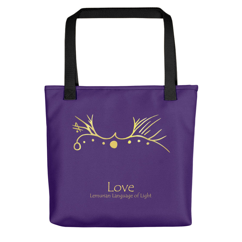 Lemurian Light Language Love - Tote Bag - StarSeed Gear