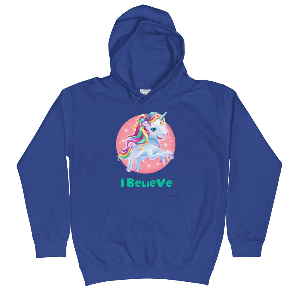 Unicorns I Believe - Kids Hoodie - StarSeed Gear