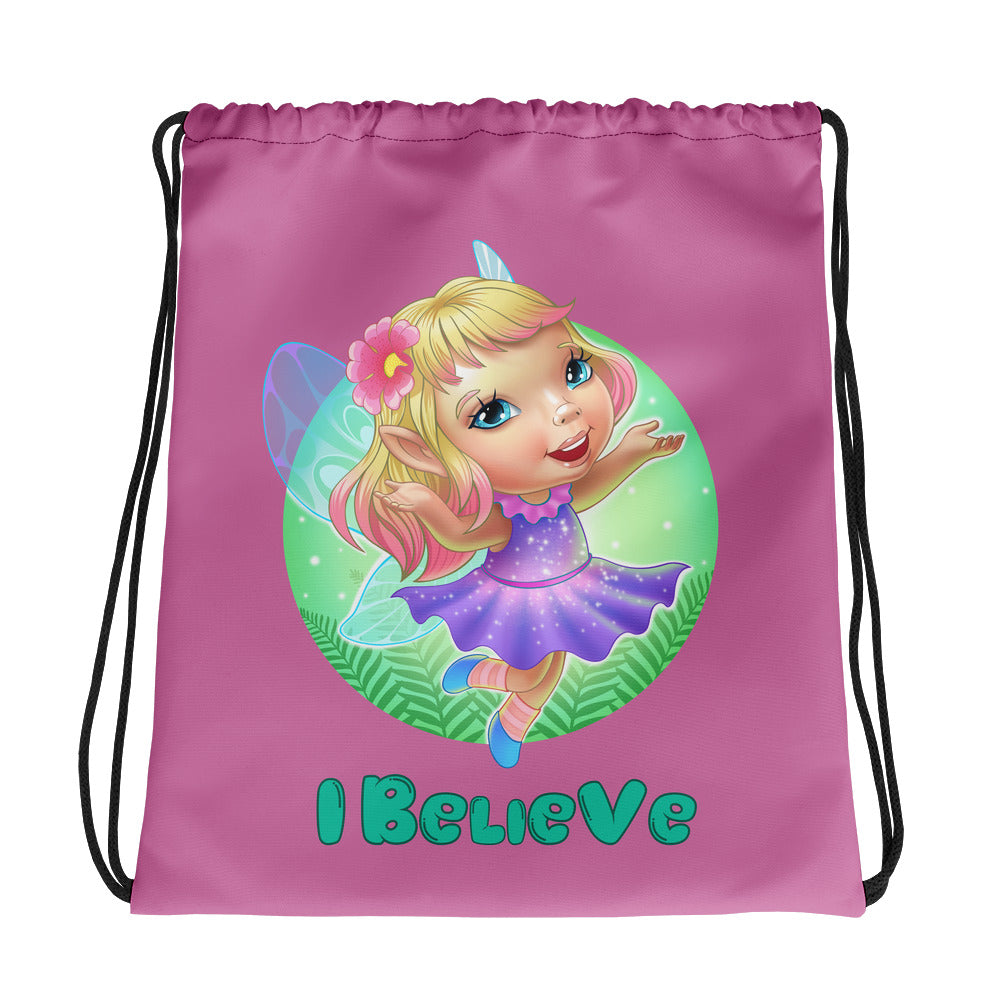 Faeries I Believe - Drawstring Bag - StarSeed Gear