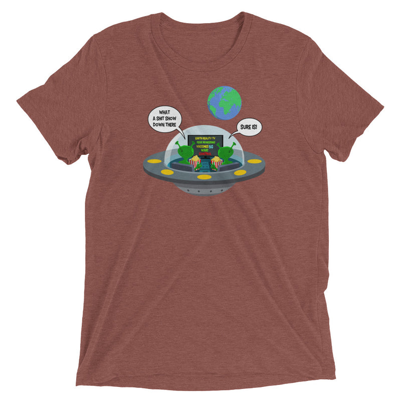 Earth Reality TV - Men's Super Soft Tee - StarSeed Gear