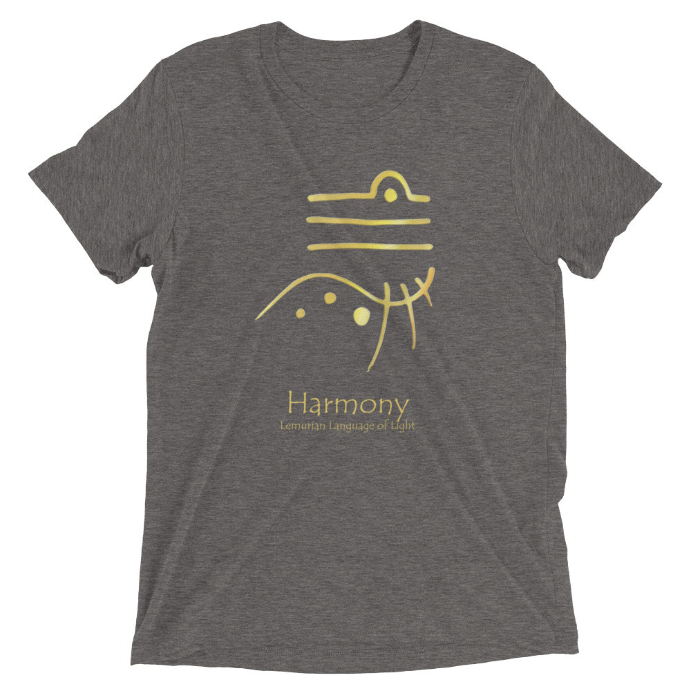 Lemurian Light Language Harmony - Men's Super Soft Tee - StarSeed Gear