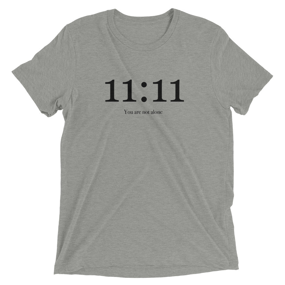 11:11 You Are Not Alone - Men's Super Soft Tee - StarSeed Gear