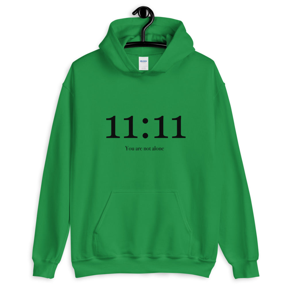11:11 You Are Not Alone - Women's Hoodie - StarSeed Gear