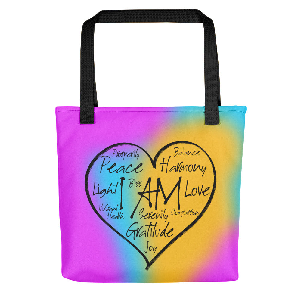 I AM Heart - Tote Bag - StarSeed Gear