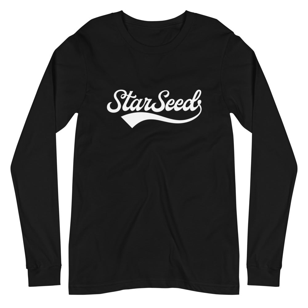 StarSeed Vintage White - Women's Soft Long Sleeve Tee - StarSeed Gear