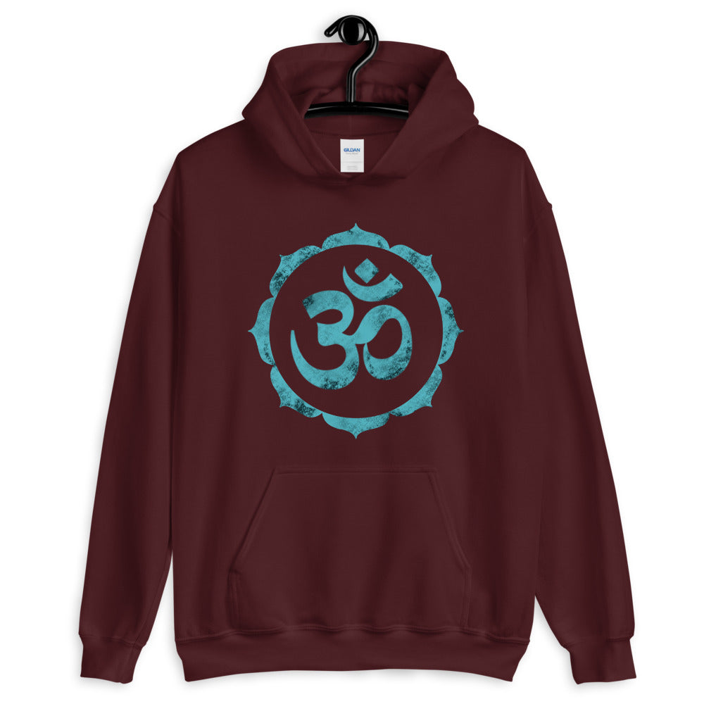 OM In Lotus - Women's Hoodie - StarSeed Gear