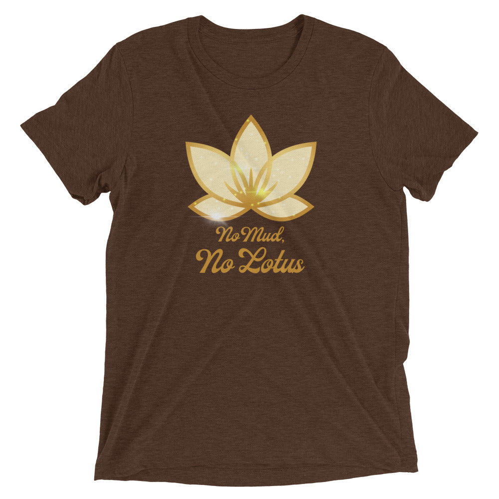 No Mud No Lotus - Men's Super Soft Tee - StarSeed Gear