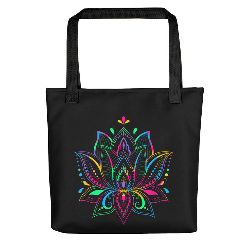 Colorful Lotus - Tote Bag - StarSeed Gear