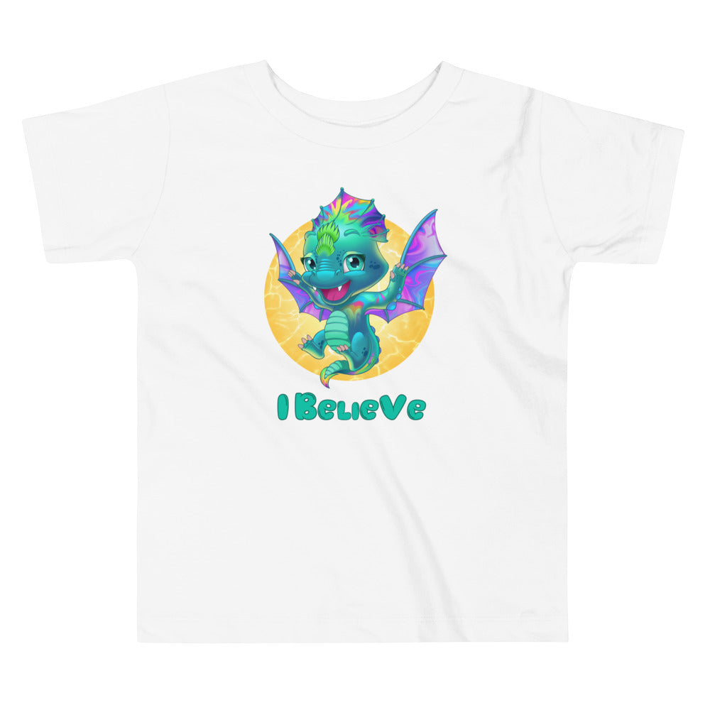 Dragons I Believe - Toddler Tee - StarSeed Gear