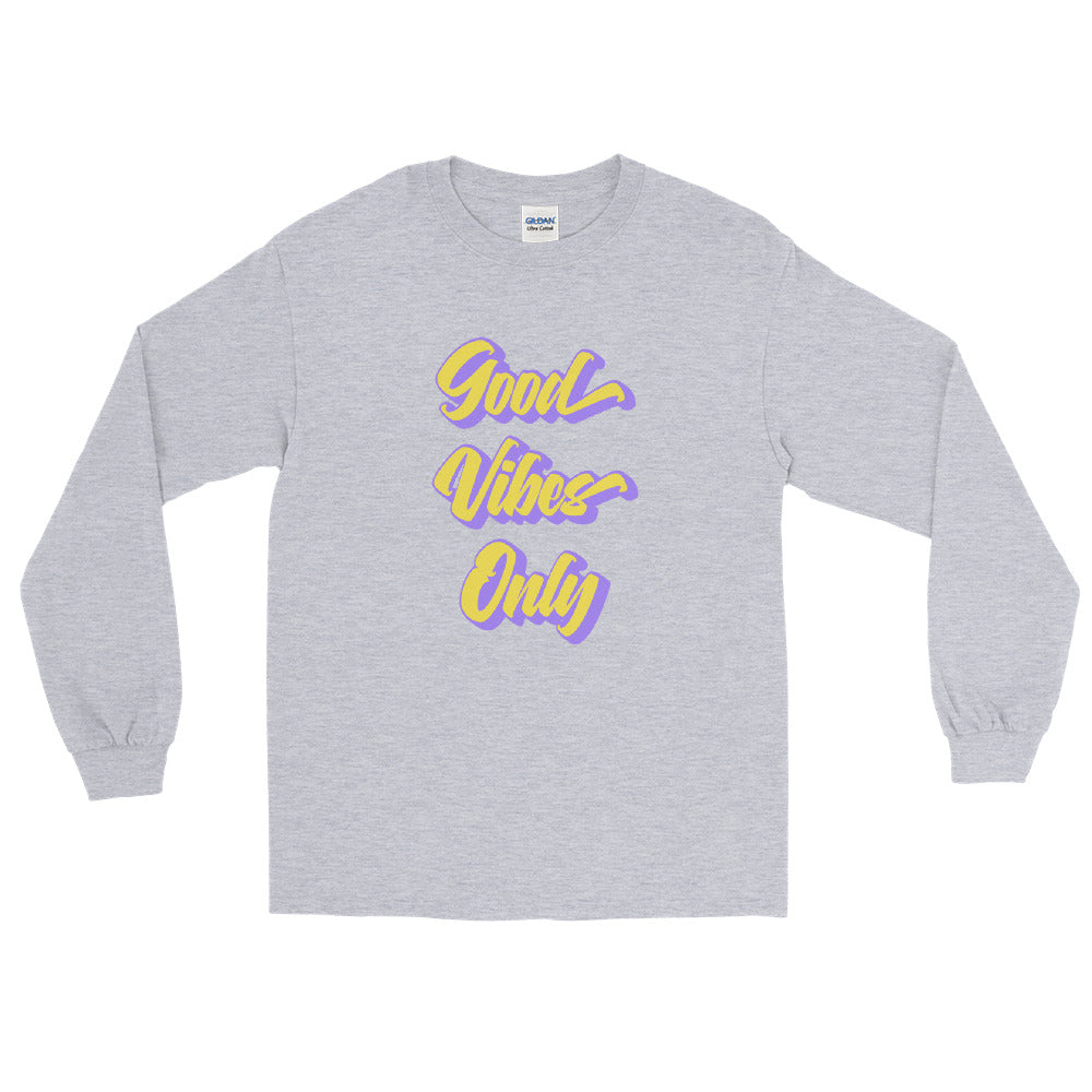 Good Vibes Only - Men's Classic Long Sleeve Tee - StarSeed Gear