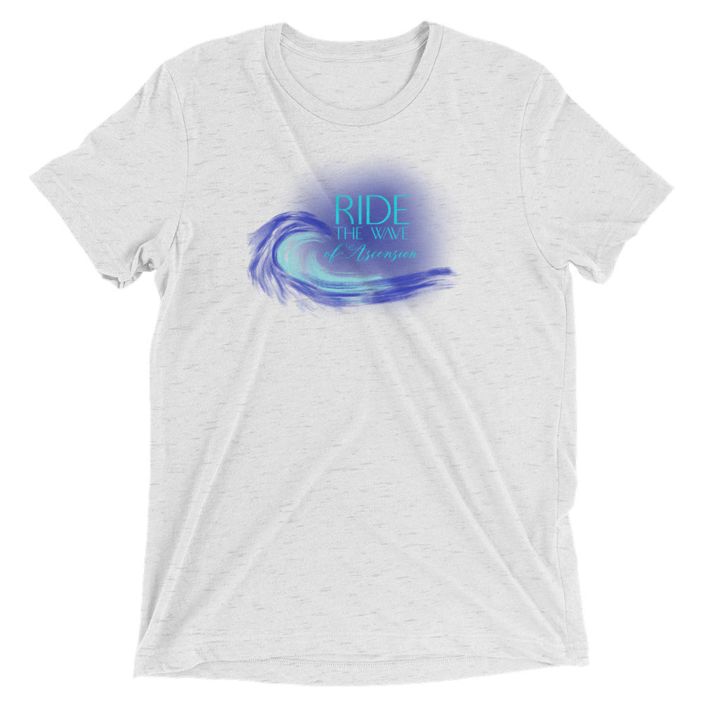 Ride The Wave - Men's Super Soft Tee - StarSeed Gear