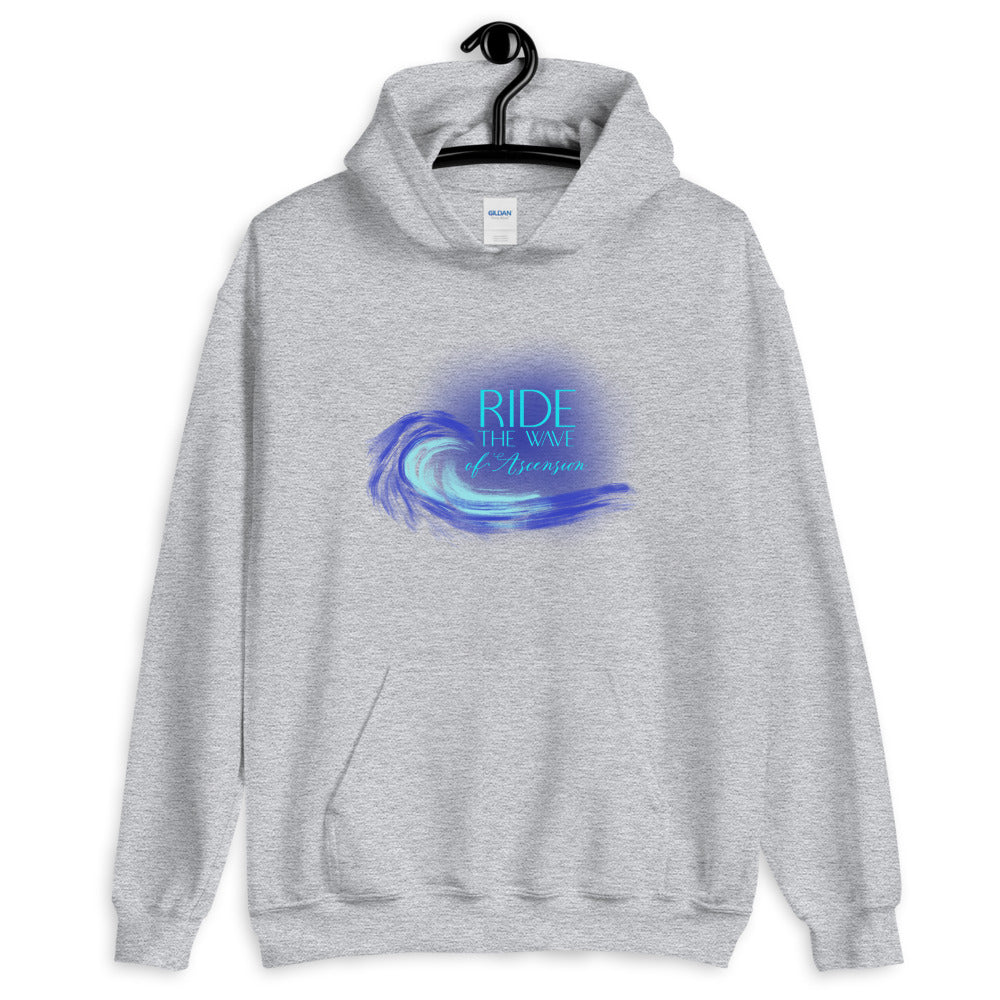 Ride The Wave - Men's Hoodie - StarSeed Gear