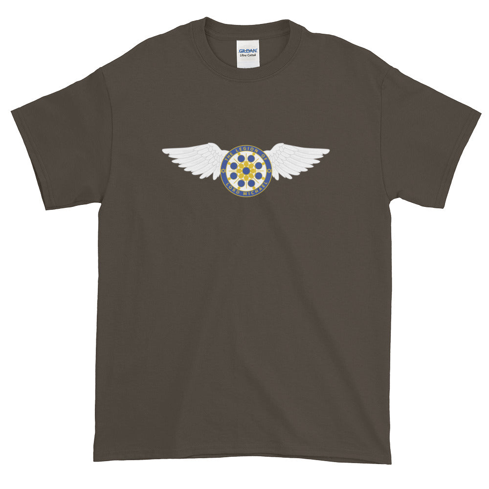 Archangel Michael Seal With Wings - Men's Classic Tee - StarSeed Gear