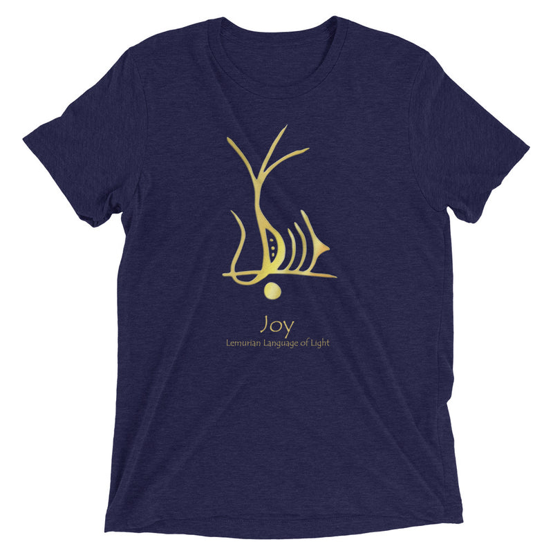 Lemurian Light Language Joy - Men's Super Soft Tee - StarSeed Gear