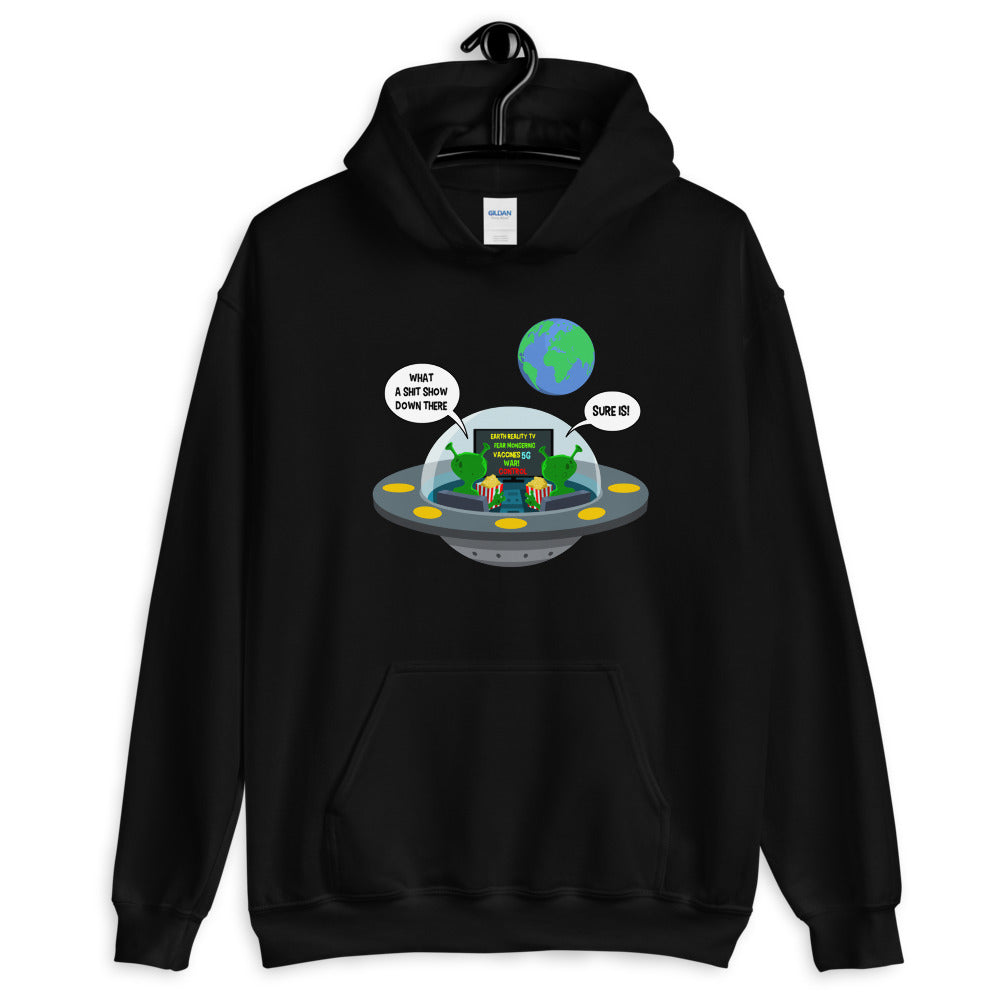 Earth Reality TV - Men's Hoodie - StarSeed Gear