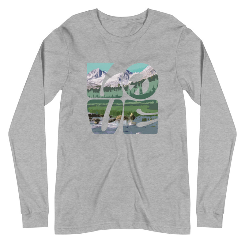 Love Gaia - Women's Soft Long Sleeve Tee - StarSeed Gear