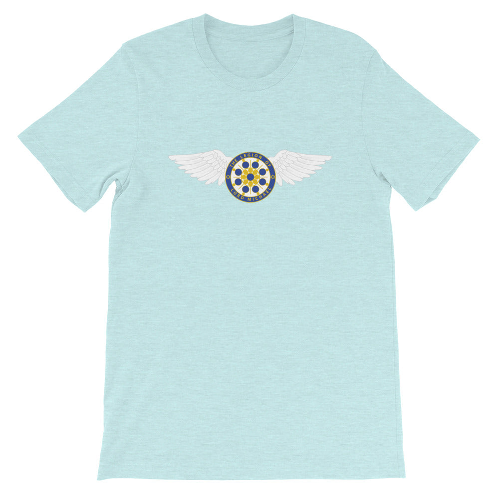 Archangel Michael Seal With Wings - Women's Soft Tee - StarSeed Gear