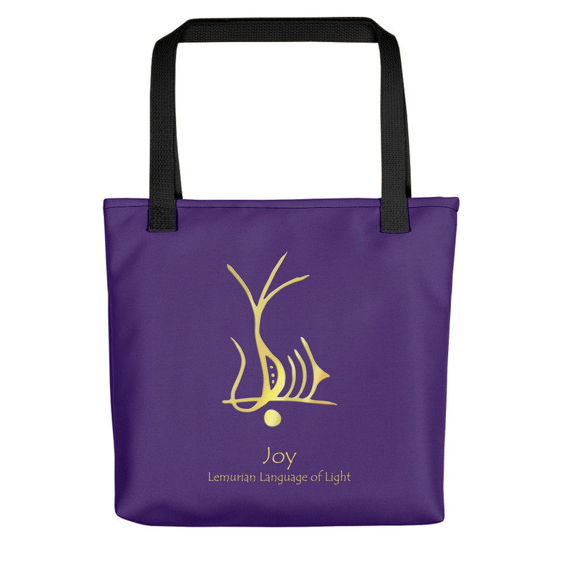 Lemurian Light Language Joy - Tote Bag - StarSeed Gear