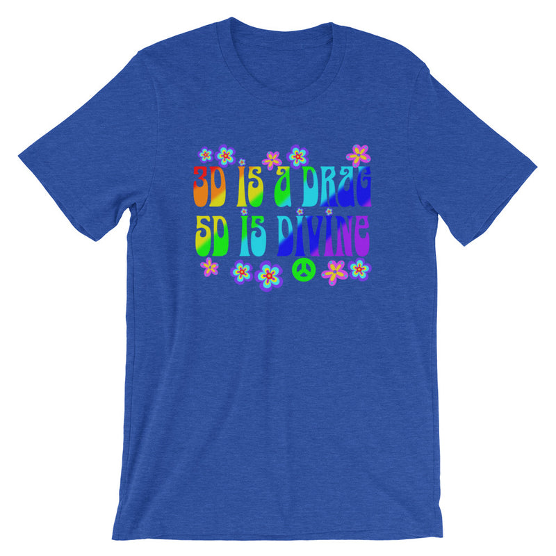 3D Is A Drag 5D Is Divine - Women's Soft Tee - StarSeed Gear